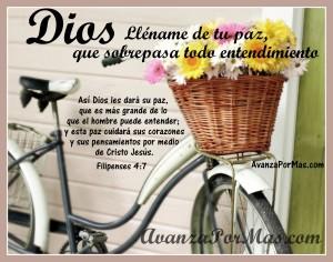 La paz de Dios es suficiente