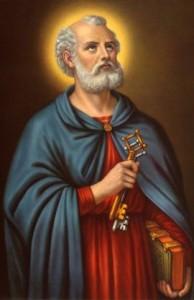 cuadro de San Pedro Apostol