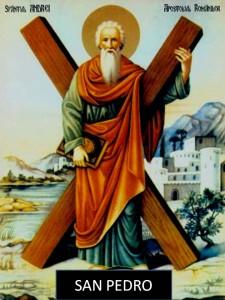 Postal de San Pedro Apostol