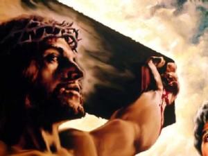 Jesucristo con la corona de espinas
