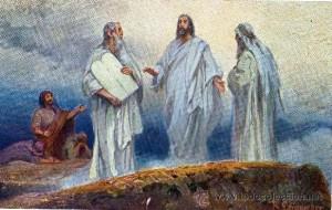Imágenes de la transfiguración de Jesús