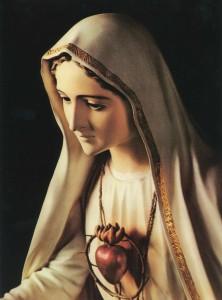 Imágenes del inmaculado corazón de María
