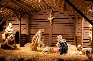 Imágenes de Jesús en el pesebre
