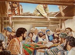 imágenes de jesús sanando enfermos paralítico