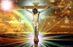 Jesuscristo Crucificado en el calvario
