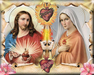 Cuadro de Jesús y María