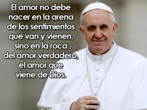 Imágenes con frases del papa francisco