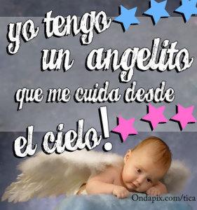 Imágenes de ángeles bebes con frases