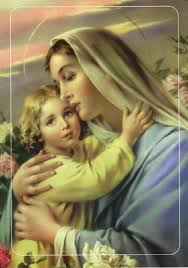 Imágenes de Jesús y la virgen maría
