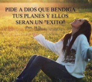 Pide a Dios una Bendición y Él te la dará