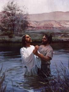 Preparación del Bautizo de Jesús
