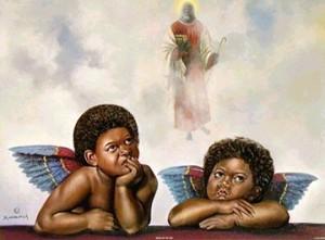 Imágenes de ángeles morenos
