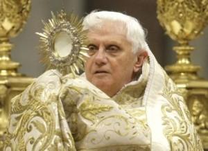 Imágenes de Benedicto XVI