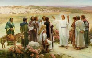 Predicando las buenas nuevas a los apóstoles