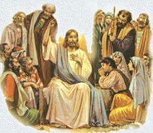 Jesús Enseñando las escrituras