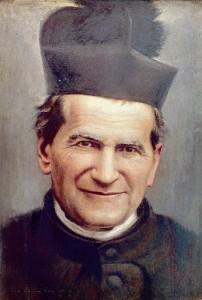 retrato de San Juan Bosco