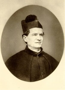 Cuadro de San Juan Bosco