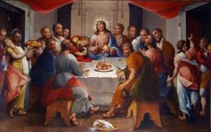 Imágenes de la última cena