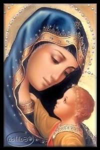 Imágenes de la virgen María