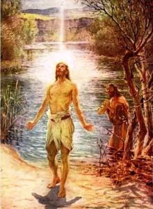 Imágenes de Jesús bautizado