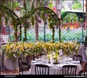 arreglos florales para una boda