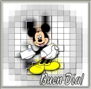 imágenes de Mickey buenos días