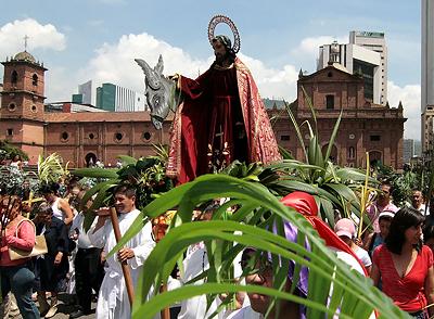 Celebraciones religiosas de Semana santa