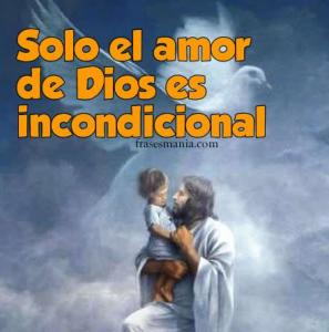 Imágenes con frases amorosas para Dios