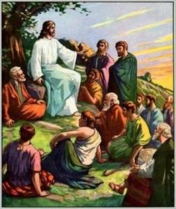 Imágenes de Jesús y sus discípulos