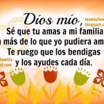 Imágenes con oraciones para la familia